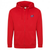 AWDis Zipped Hoodie - Embroidered