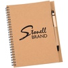 View Image 1 of 3 of A5 Recycled Notebook with Pen