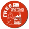 Promotional Stickers - Round (75mm - 100mm)