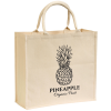 View Image 1 of 2 of Broomfield Cotton Tote Bag - Natural