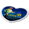 View Image 1 of 3 of Shaped Coaster - Heart