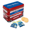 View Image 1 of 2 of London Bus Tin - Tea & Biscuits