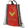 Reflective Dual Carry Drawstring Bag - 2 Day