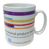 Cambridge Mug - Dye Sub - Stripe Design