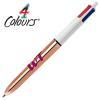 View Image 1 of 4 of BIC® 4 Colour Pen - Shine Barrel