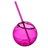 View Image 1 of 3 of Fiesta Ball and Straw