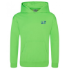 AWDis Kid's Electric Hoodie - Embroidered