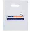 Biodegradable Promotional Carrier Bag - Small - White