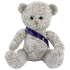 Newcroft Bear - Grey with Sash