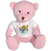 Newcroft Bear - Pink with T-Shirt