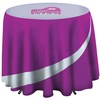 Round Table Cloth - Café Height - Full Colour