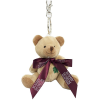 Teddy Bear Keyring with Bow