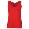 Fruit of the Loom Ladies Value Vest - Coloured