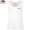 Fruit of the Loom Ladies Value Vest - White