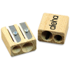 Wooden Double Pencil Sharpener - 2 Day