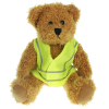 25cm Sparkie Bear with Hi Vis Jacket