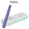 BIC® Comfort 2 Lady Razor with Shaving Gel - Boxed