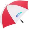Budget Golf Promotional Umbrella - Striped - Full Colour