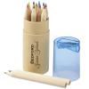 12 Coloured Pencil Crayon Tube