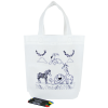 View Image 1 of 3 of Kids Colour-In Bag & Crayons