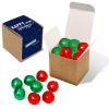 Kraft Cube - Foiled Chocolate Balls