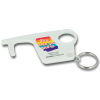 View Image 1 of 2 of Hygiene Hook Keyring - White