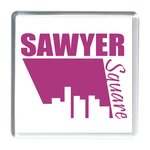 Adview Coaster - Clear - Square