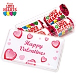 Maxi Rectangular Sweet Pot - Love Hearts