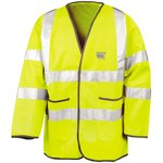 Lightweight Motorway Hi-Vis Safety Jacket