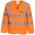 Budget Hi Vis Long Sleeve Vest