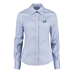Kustom Kit Lady Fit Corporate Oxford Shirt - Long Sleeve