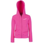 Fruit of The Loom Ladies Zipped Hoodie - Embroidered