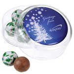 Maxi Round Sweet Pot - Chocolate Foil Balls - Christmas