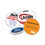 Car Window Sticker - Oval/Circle - Self Adhesive