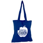 Eco-Friendly Long Handled Tote Bag - Coloured