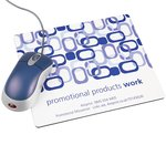 Q-Mat Promotional Mousemat - Links Design