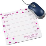 Mousemat Notepad - Dot Design