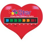 Heart Thermometer Magnet