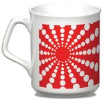 Sparta Mug - White - Starburst Design
