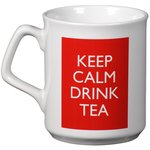 Sparta Mug - White - Keep Calm Design