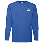 Fruit of The Loom Long Sleeve Value Weight Tee - Coloured