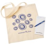 Cotton Bag Gift Pack with Pen