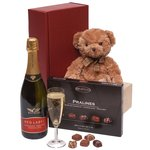 'Bubbles' Wine & Chocolates Hamper