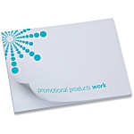 A7 Sticky Notes - Starburst Design