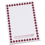 A7 25 Sheet Notepad - Leaf Design