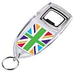 Bottle Opener Keyring - Union Jack Design