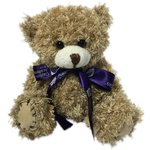 12cm Paw Bear with Bow