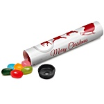 Sweet Tube - Gourmet Jelly Beans - Christmas Design