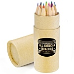 12 Piece Pencil Crayon Set