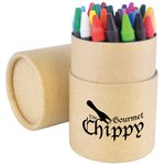 30 Piece Crayon Tube